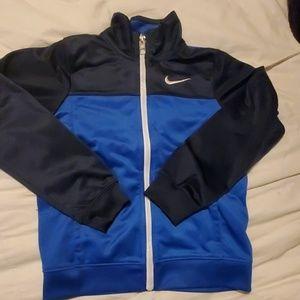 Dark Blue and Royal Blue Sweat Jacket Boy